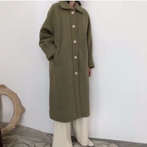 The Dot Boutique Wool Coat
